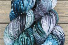 Fashion yarns / unique fiber yarns / by chellechet.etsy.com