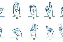 GebarenTAAL & Braille ✊✌️ / GebarenTaal leren ..