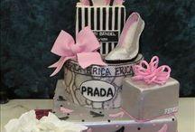 Prada fashion cake