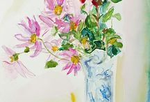 Flowers / Beauty, color and more! I love painting flowers....Gods grace is abounding all around us. Enjoy....www.Lorisart.com