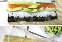 How to make sushi! / For me.