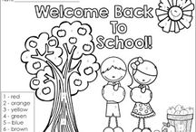 Back to School / All things back to school!