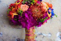 Wedding flowers-oranges