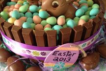 Rabbit Easter cake