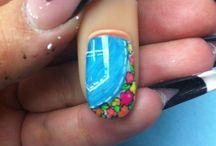 Mezclilla  / Nails