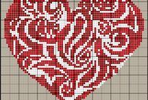 Herzen Bügelbilder