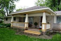 * New House Front OR Back Porch IDEAS * / by Danielle Smith