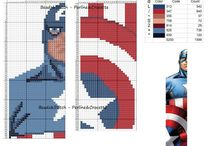 Cross stitch Marvel