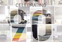 Wilson Fabrics Celebration board