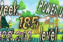 Angry Birds Friends Week 185 power up / Angry Birds Friends Tournament Week 185 all Levels  HighScore  , 3 star strategy High Scores power up visit Facebook Page : https://www.facebook.com/pages/Angry-birds-for-play/473374282730255 blogger page : http://angrybirdsfriendstournaments.blogspot.com/ twitter : https://twitter.com/carloce_kiven