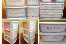 Organizing / by Amanda Moore