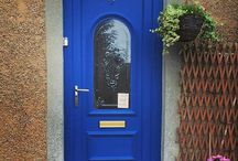 Autentico Front Doors / PVC and wooden front doors painted in Autentico Versante