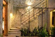 escaleras y muros