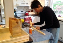 Making Bee Hives / by Bee Honey Healthy
