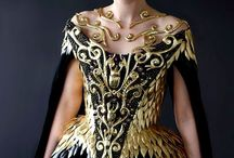 Costume design: metal