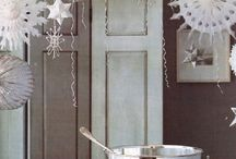 silver white christmas