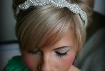 Hair ideas / Beautiful updos, cascading waves and short pixie cuts for the current bride.