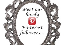 Meet our Followers / To our followers - add one pin here about you so we all get to know one another more and share networks!