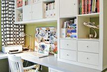 Βιβλιοθήκη & Γραφείο Ιδέες για το σπίτι