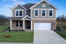 Patriot Craftsman C1 - Floor Plan / Jagoe Homes, Inc. Project: The Vinings. Elevation: Patriot C1, Bowling Green, KY. Lot 40.