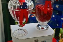 Australia Day / Stylish and tasteful ideas to celebrate Australia Day.