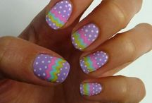 Easter nails / by Kim McChesney