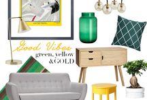 Living room / Living room decor ideas, details, interiors, decorations,