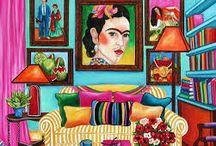 Frida Kahlo Tapete
