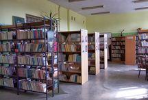 Lokal biblioteki / Zdjęcia biblioteki Szkoły Podstawowej nr 1 im. M. Kopernika w Śremie