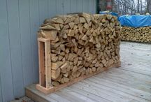 firewood rack  DIY 4 OUTdoor