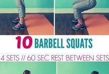 Barbell excercises