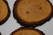 Tree Branch Buttons / Handmade Wooden Tree Branch Buttons from AskCheese Woodworks