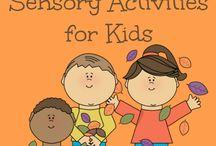 Fine motor and sensory activities / by Nina Field