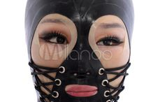 Women in Latex Hoods and Latex Masks / Women in Latex Hoods and Latex Masks