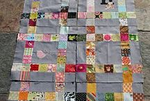 Quilts from Scraps / Quilts and quilt patterns using fabric scraps / by Zen Chic, modern quilts by Brigitte Heitland