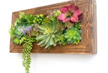 Flowers wall hanging