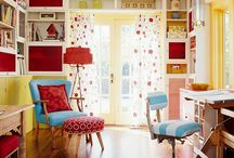 DECOR Offices, Libraries, Craft Rooms / by Brittany H