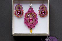 Jewelry sets / soutache