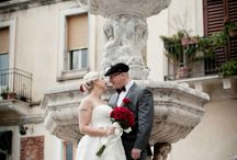 Karolina & Pawell / Red wedding in Savoca