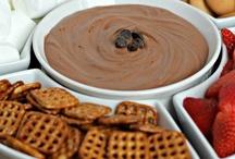 Sweet dessert dips / Chocolate