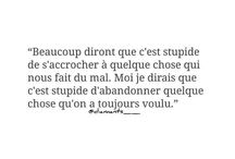 Words / mots