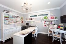 scrapbook room / office / by Leslie Brence-Pendergrass