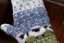 Knitted mittens / Idea of knitted mittens