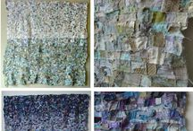 Recycled Textile / Ideas for make do and mend, and recycled textile projects