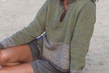 Patroon trui gebreid