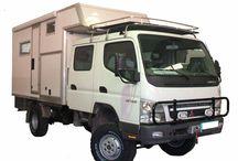 Canter Fuso 4x4 Trucks