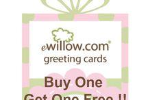 eWillow.com Greeting Cards by Charlene Harreveld