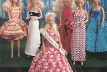 Barbie=thread gowns