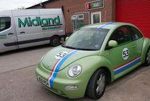 VW Beetle graphics