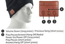 Bluetooth Smart Cap / warm hat with wonderful music in the winter!